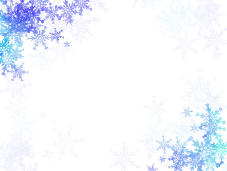 雪花水彩風格背景