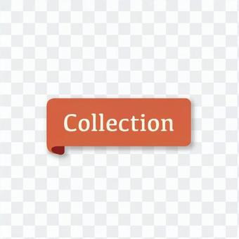 Collection (retro red banner)