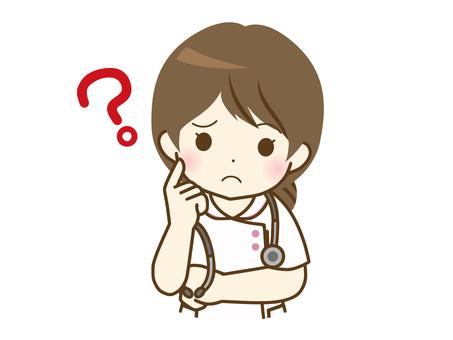 年輕女護士想知道