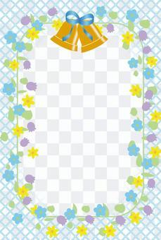 鈴鐺和花相框
