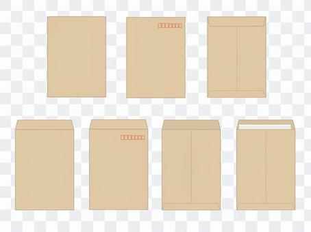 角2 A4 封筒セット