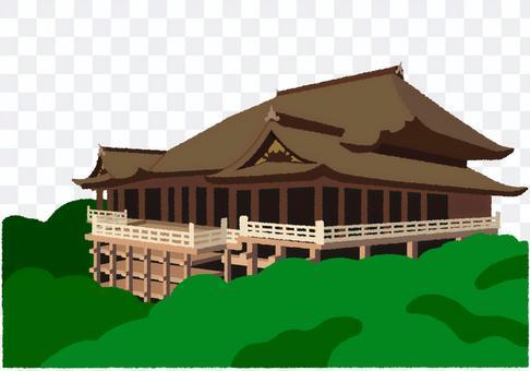 清水寺的插圖