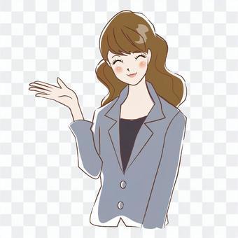 Suit Female Long 4