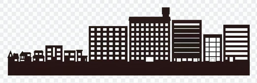 城市景觀剪影