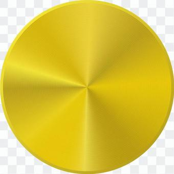 黃金金屬按鈕__集中