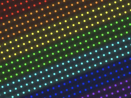 彩虹照明圖案背景: 對角線