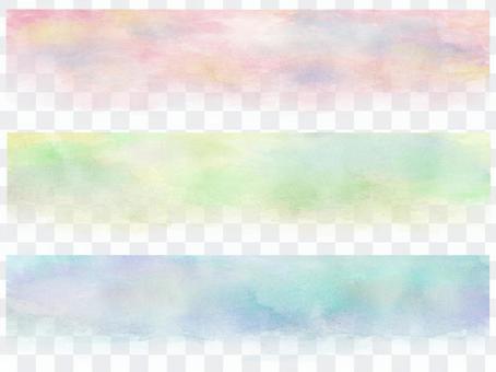 Watercolor banner 1