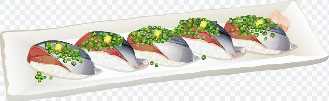 秋天的甜壽司