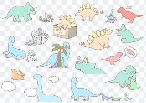 Dinosaur set 1