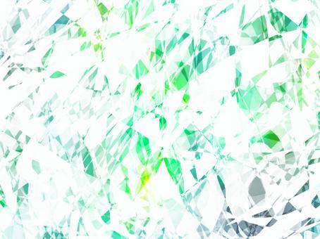 綠色閃光寶石紋理背景