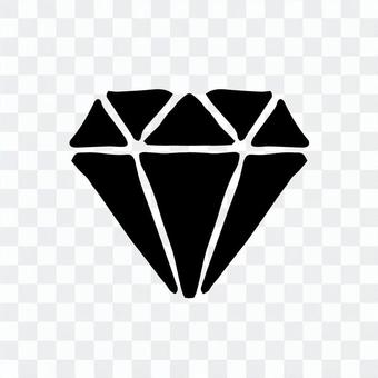簡單的鑽石矢量
