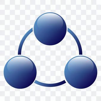 圖表圖三角形