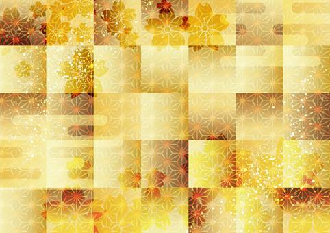 Japanese style background material 26