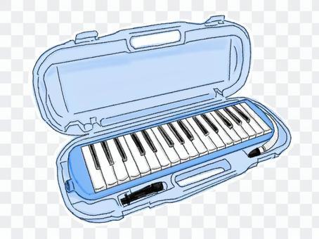 鍵盤口琴8(彩色)