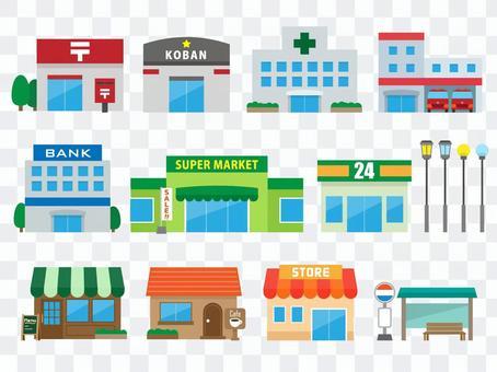 Townscape _ Store / Public facilities etc.