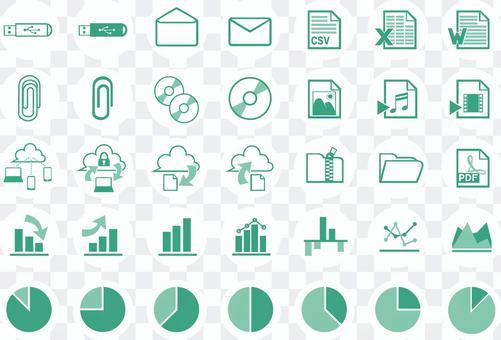 簡單的圖標集_數據