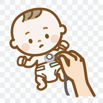 寶寶一個月檢查生活系列