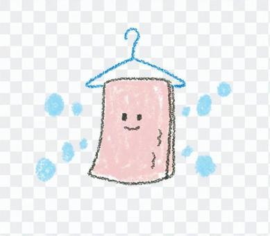 タオルで加湿