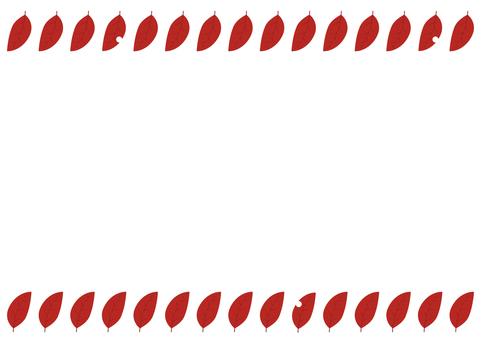 10 : 테두리 (벌레 나뭇잎 빨강 상하)