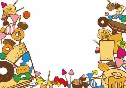 糖果的框架