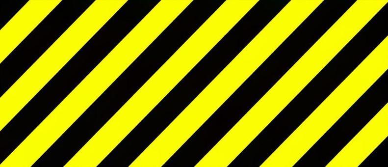 """Caution-tiger pattern"" frame"