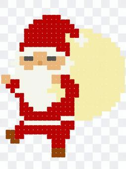 クリスマス ドット絵デザイン