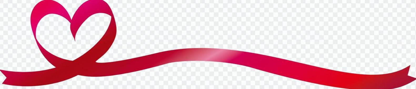 免费的插图免费材料心丝带功能区