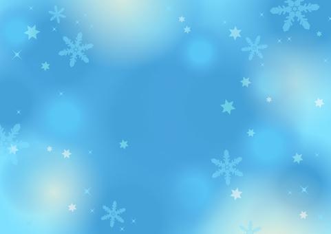 冬天·雪·聖誕節背景(藍色