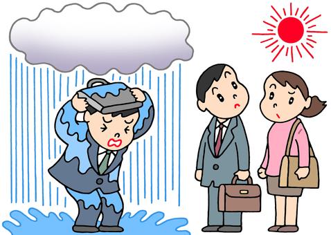 Local rain