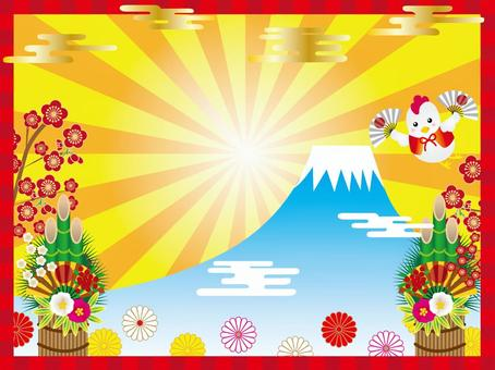 Heisei 29 New Year Frame 002
