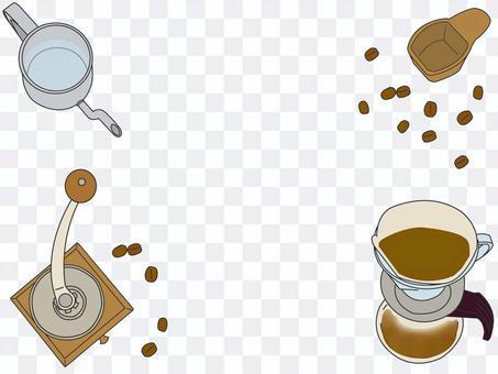 咖啡用具(也作為框架)