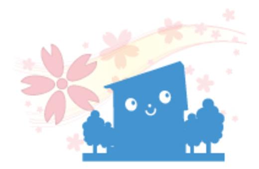 Cherry blossom dwelling _ blue
