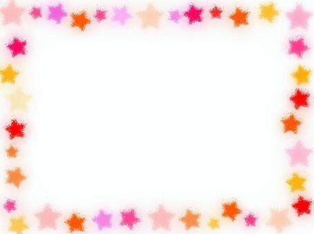 明星多彩幀點圖片