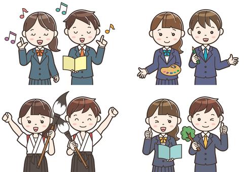 Club activity illustration 24