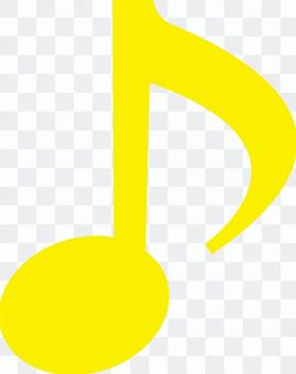 Eighth note _01_ yellow