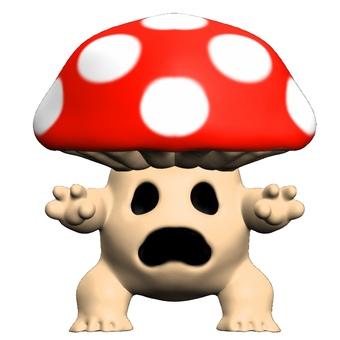 蘑菇鬼變形CG