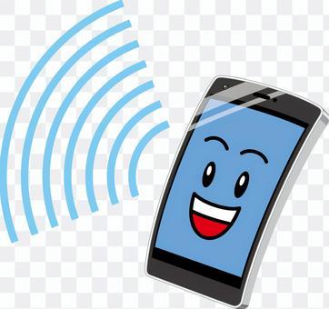 智能手機通訊黑色