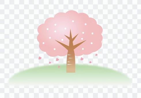 Cherry tree one point