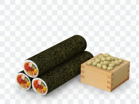 Setsubun Erio Roll and Fukuo 02