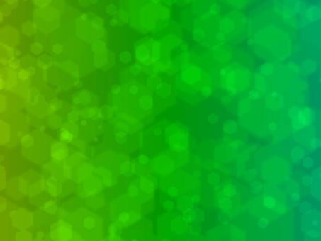 겹치는 다수의 녹색 육각형