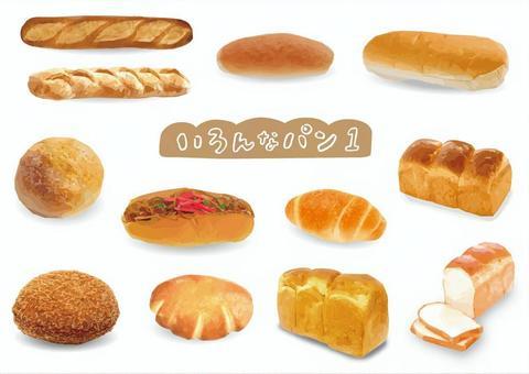 各種麵包0425