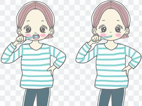 牙膏女孩(2種模式)