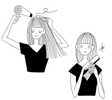 Hair care women