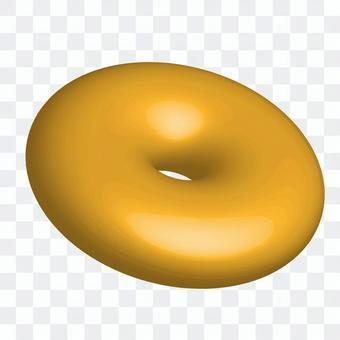普通的甜甜圈的插圖