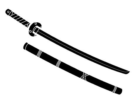 日本刀剪影