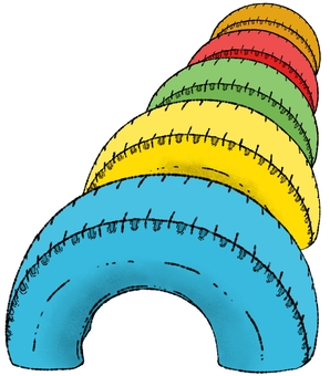 Tire playset