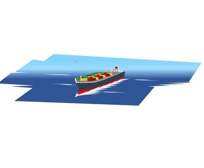 集裝箱船(導航)