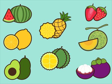 水果圖標集