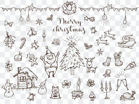 【手寫】聖誕節分類2