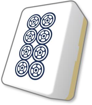 Mahjong Tile Pin Pin
